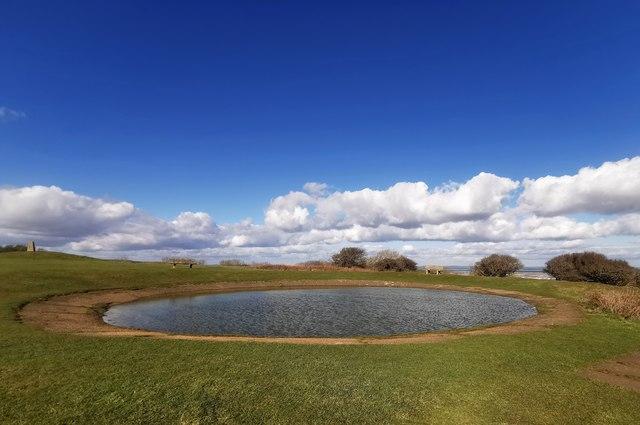 Dew Pond, Warren Hill Eastbourne