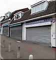 ST3091 : Reminder of the former Jones the Vet, Malpas, Newport by Jaggery