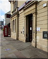 ST6390 : Entrance to NatWest, Thornbury by Jaggery
