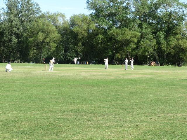 Cricket Pitch, Churchill Playing Fields