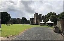 SO5074 : Ludlow Castle by Chris Thomas-Atkin