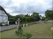 SU2991 : St John, Fernham: churchyard (a) by Basher Eyre