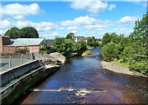 NS5036 : The River Irvine at Galston by Mary and Angus Hogg
