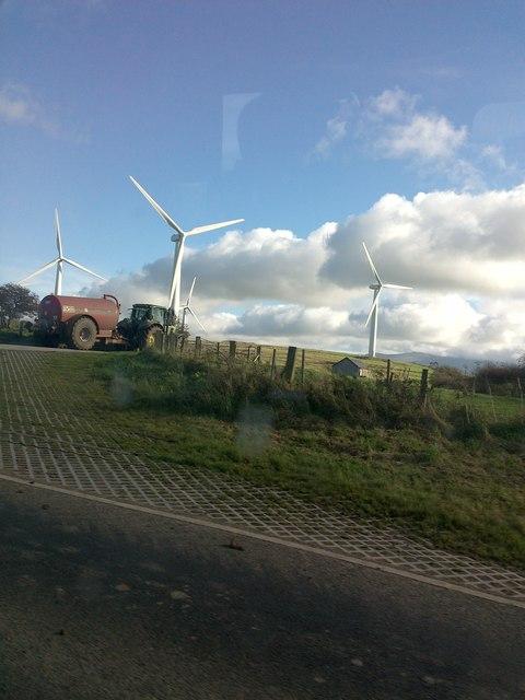 Windfarm entrance