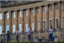 ST7465 : Bath : Royal Crescent by Lewis Clarke