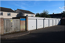 TL4660 : Garages on Dundee Close by Hugh Venables