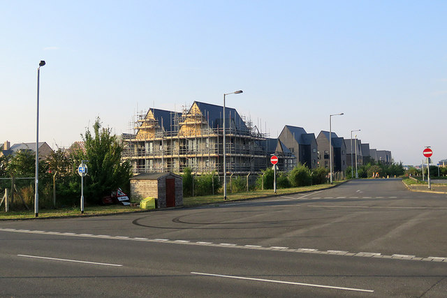 New houses at Northstowe