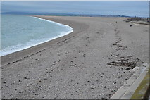 SY6873 : Chesil Cove and Chesil Beach by N Chadwick