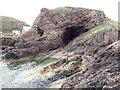 NJ4868 : Entrance to Rotten's Cave by Nigel Feilden