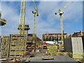 NT2472 : Springside building development, Fountainbridge by M J Richardson