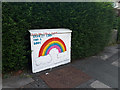 SE2535 : Utility cabinet with rainbow design by Stephen Craven