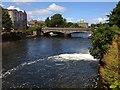 M2925 : Bridge over River Corrib, Galway by Philip Cornwall