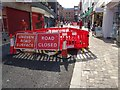 SO8554 : Relaying pedestrian paving by Philip Halling