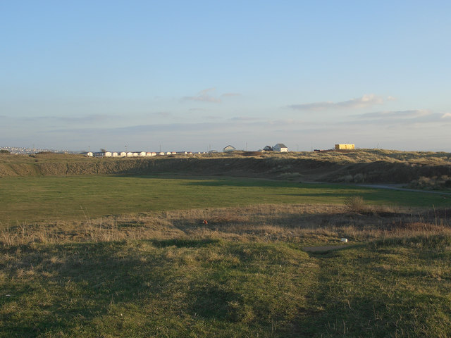 A view over the Sandy Bowl, Porthcawl