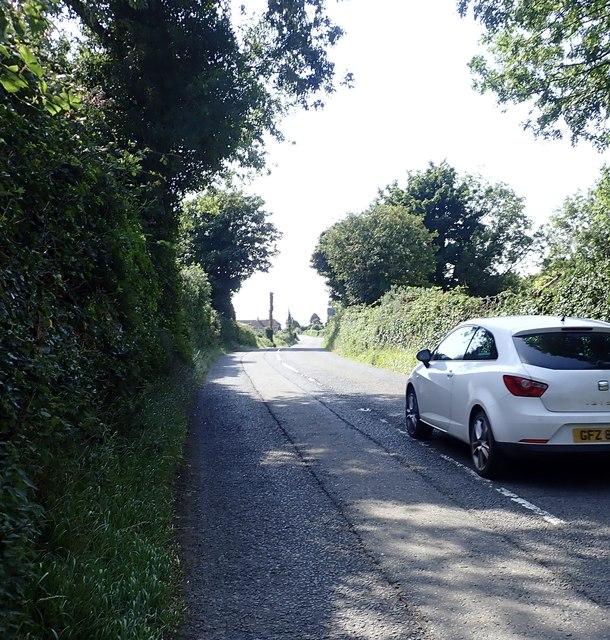 Carnacaville Road (B180) west of St Joseph's  Primary School