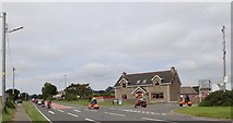 J3633 : Retro Mods at the Carnacaville Cross Roads on the A50 by Eric Jones