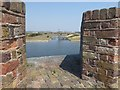 TQ6575 : The Inner moat at Tilbury Fort by Marathon