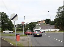 J3633 : View across the A50 between Tollymore Road and Church Hill by Eric Jones