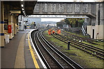 TQ1979 : Piccadilly Line, Acton Town by N Chadwick