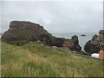NT6779 : Dunbar Castle by Richard Webb