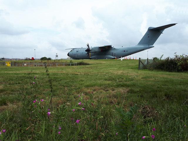 Airbus A400M Atlas at RAF Brize Norton