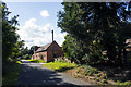 SP0356 : Converted farm buildings by P Gaskell