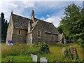 SO3729 : Church of St Michael at Dulas by Colin Cheesman