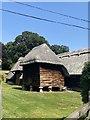 SU4151 : Traditional Staddlestone Barn or Granary by Carmen