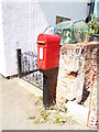 TG1022 : The Street George V Postbox by Geographer