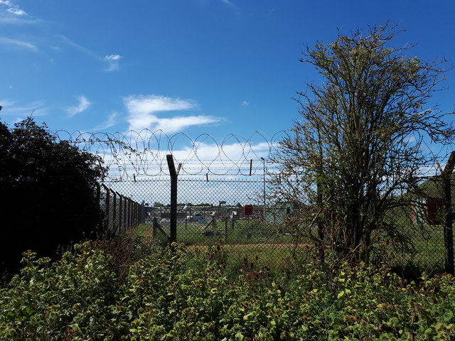 RAF Brize Norton eastern perimeter