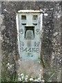 SP9310 : Bench Mark on Triangulation Pillar near Wigginton by David Hillas