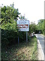 TG1022 : Reepham Town sign by Adrian Cable