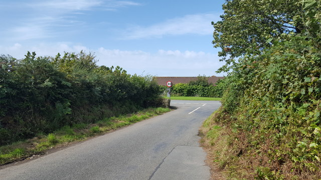 Minor country road