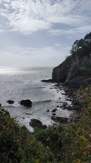 Cliffs from the coastal path