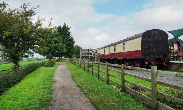 Railway carriage accommodation by Trevor Littlewood
