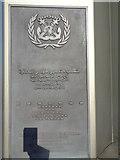 TQ3078 : Plaque, International Seafarers Memorial, Albert Embankment by Robin Sones