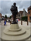 SP2055 : Statue of William Shakespeare by Philip Halling