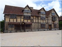 SP2055 : Shakespeare's birthplace in the summer of 2020 by Philip Halling