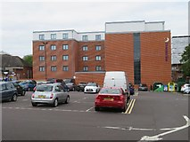 SU6351 : Castons car park & Premier Inn by Sandy B