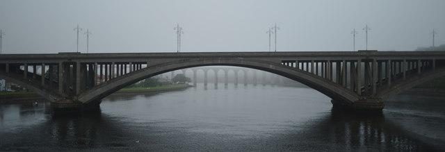 Bridges over The Tweed, Berwick