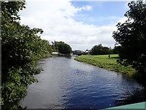 J3731 : Shimna River in Island's Park, Newcastle by Eric Jones