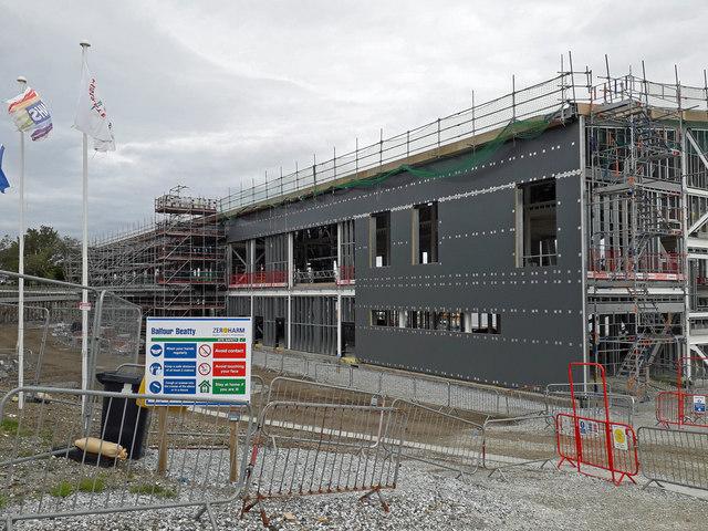 New hospital - progress continues