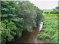 NZ7107 : The River Esk looking downstream from Duck Bridge, Danby by Humphrey Bolton