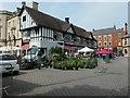 TF0645 : Sleaford market place by Christine Johnstone