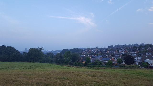 Overlooking Ludlow