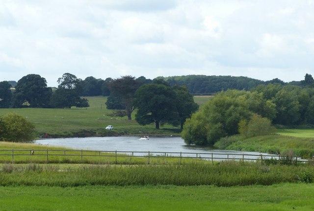 The River Trent near East Stoke