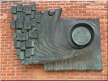 SP2055 : Sculpture at Shakespeare's birthplace by Philip Halling
