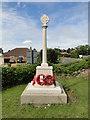 TG2322 : Buxton (Norfolk) War Memorial by Adrian S Pye