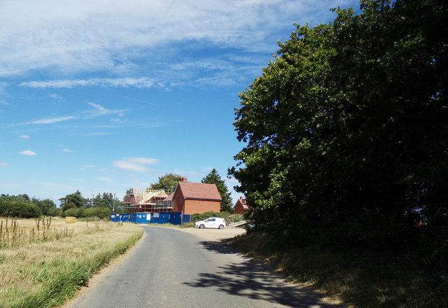 Station Road, Attlebridge