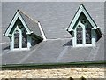 ST5196 : Dormer windows in St Arvans church by Philip Halling